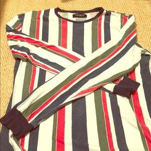 Gucci colored striped shirt!